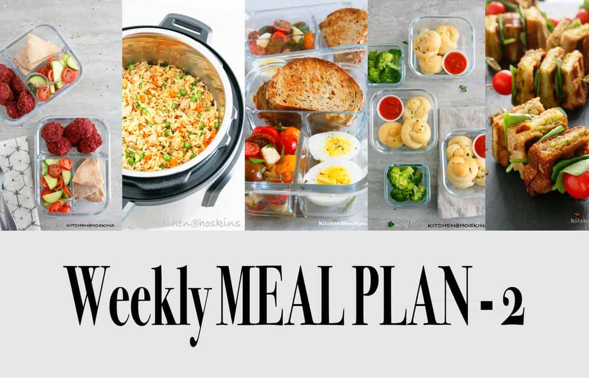 Weekly Meal Plan-2