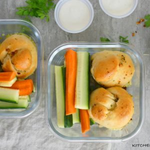 CHICKEN PETSO SLIDERS WITH LEFTOVER GARLIC KNOTS