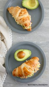 ROTISSERIE CHICKEN SALAD SANDWICH WITH AVOCADO