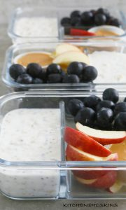 lassi overnight oats meal prep