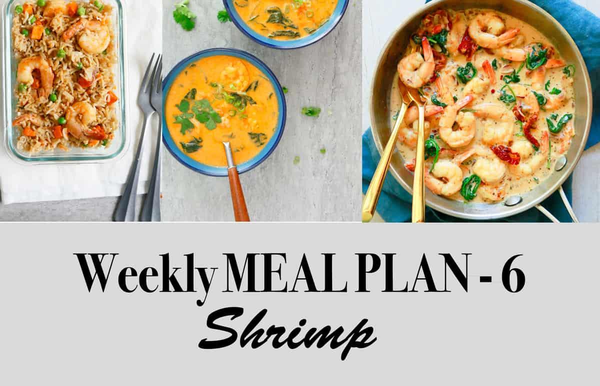 Weekly Meal Plan-6, Shrimp
