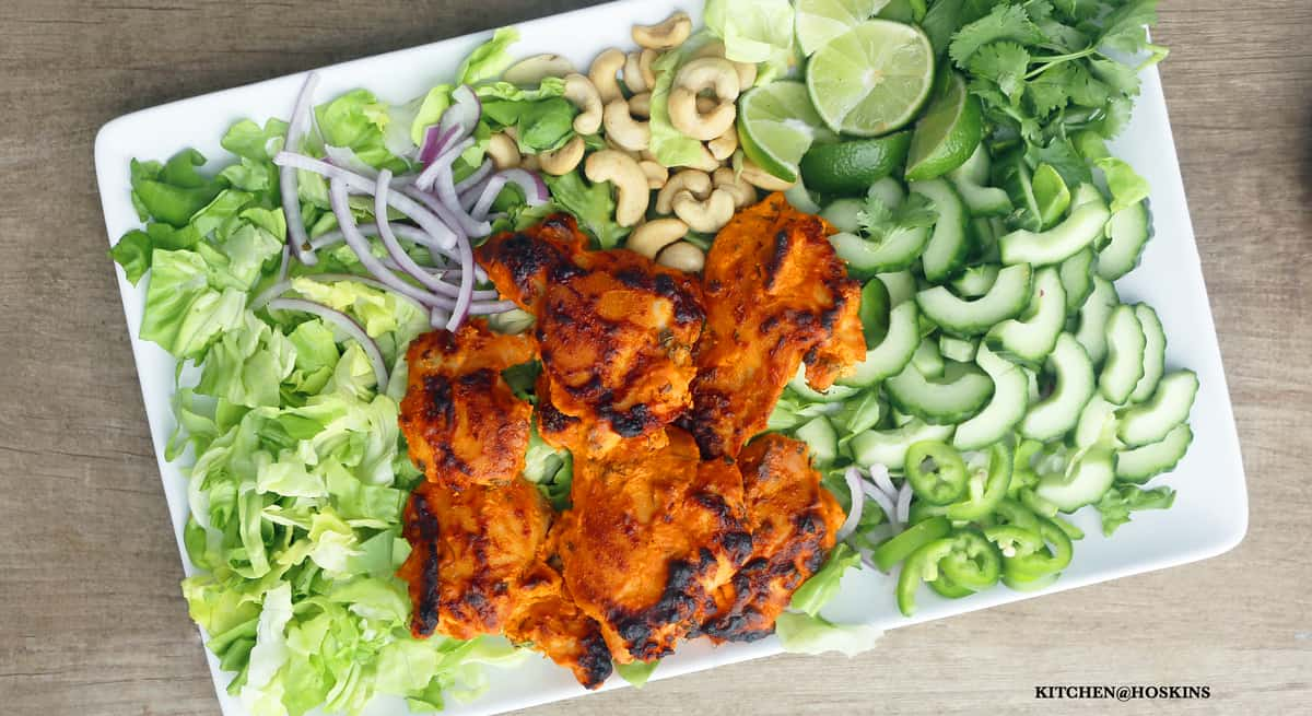 TANDOORI CHICKEN SALAD