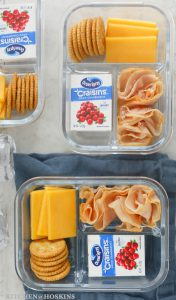 DIY LUNCHABLES SNACK BOX