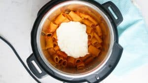 meatless baked ziti in instant pot