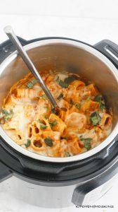 meatless baked ziti in instant pot