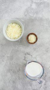 ingredients to make pancake pizza