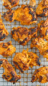 authentic TANDOORI CHICKEN in oven