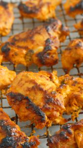 authentic TANDOORI CHICKEN in oven