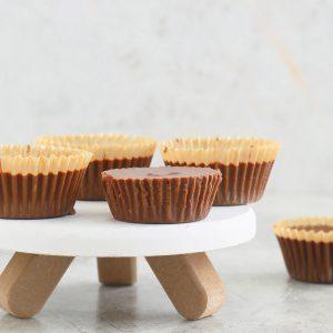homemade almond butter cups recipe