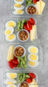 diy protein snack box