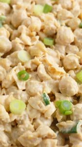chickpea salad with mayo