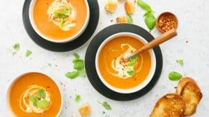 instant pot cream of tomato soup