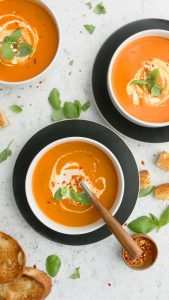 best creamy tomato soup in instant pot