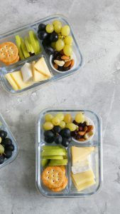 cheese plate snack box