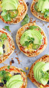 english muffin pizzas mexican style