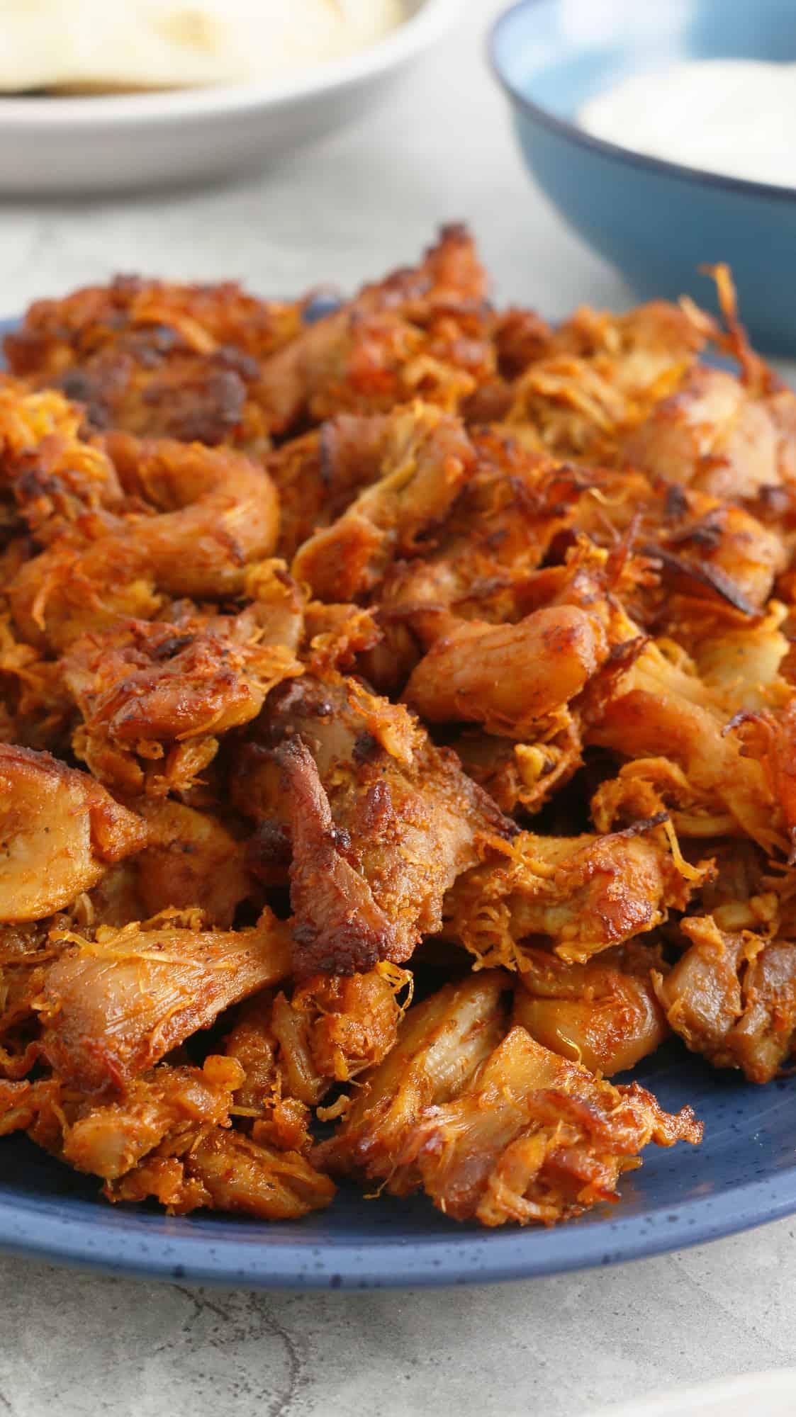 instant pot chicken shawarma