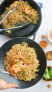 honey walnut shrimp ramen noodles