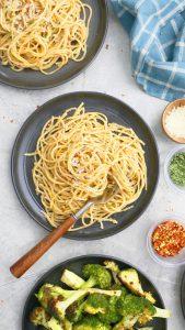 instant pot aglio e olio