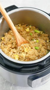 how to make thai fried rice in instant pot