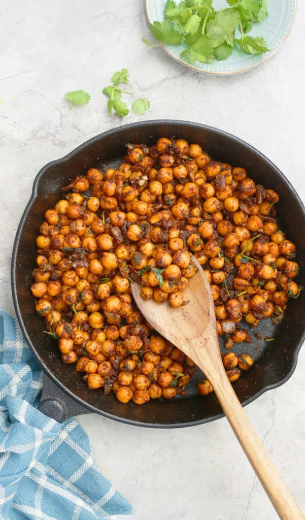chickpeas Mexican style