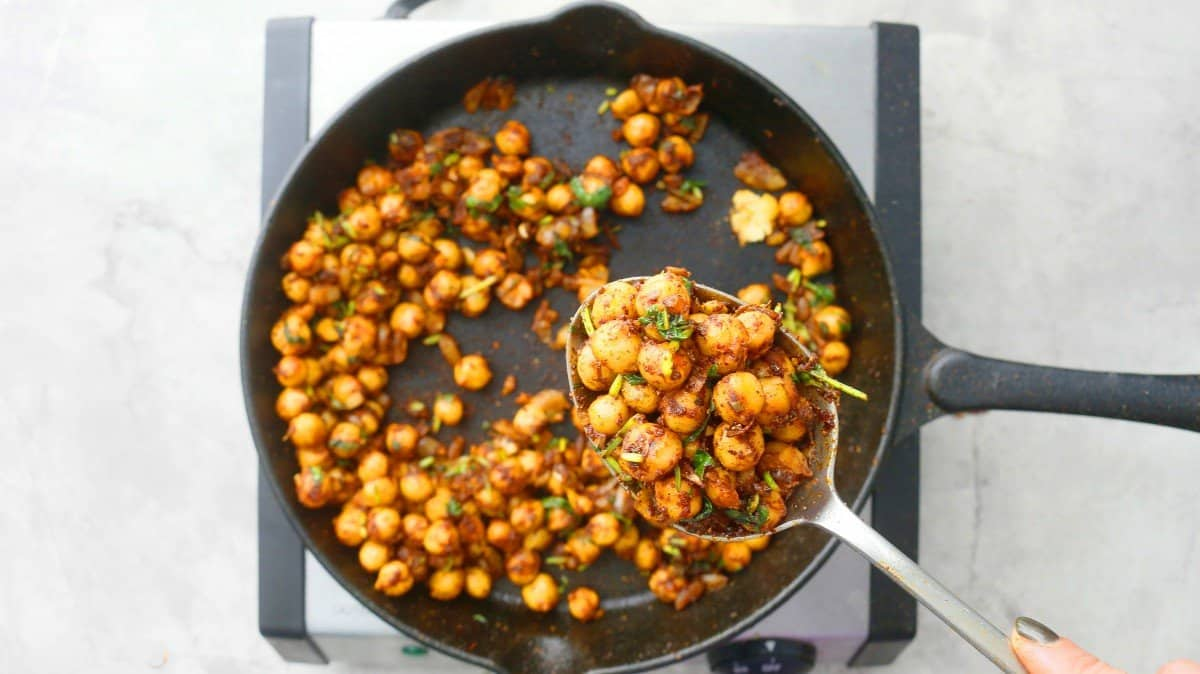 chickpeas for taco