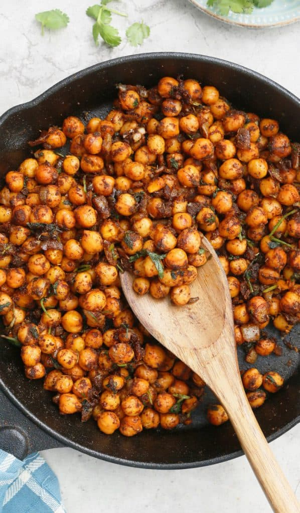 chickpeas for tacos