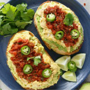 avocado dinner idea
