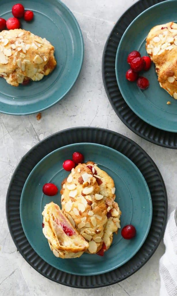 cranberry almond croissant