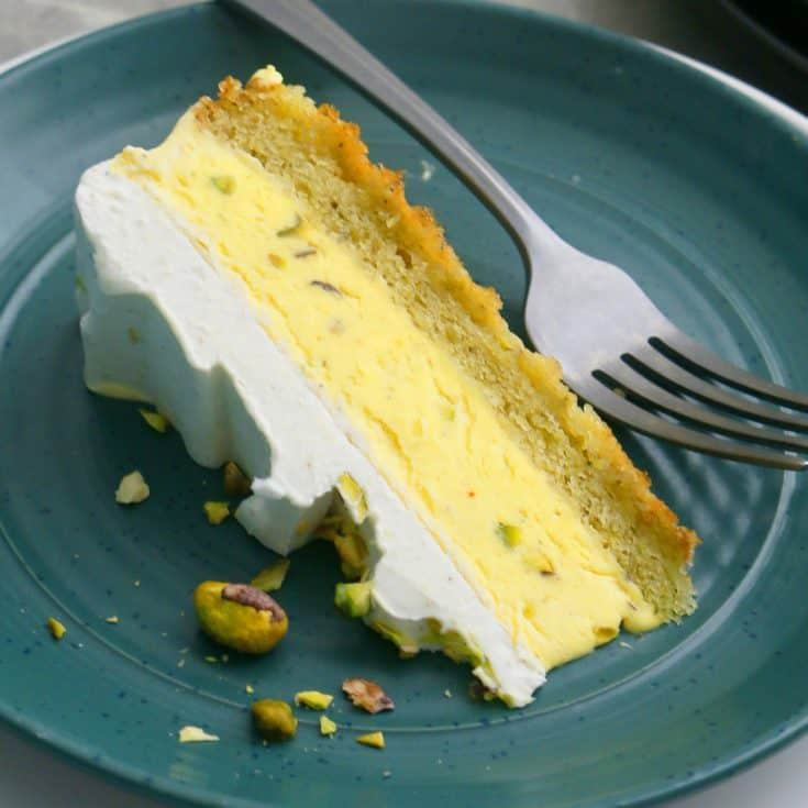 Kulfi Ice Cream Cake