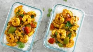 shrimp curry in a hurry