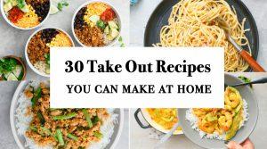 homemade take out recipes
