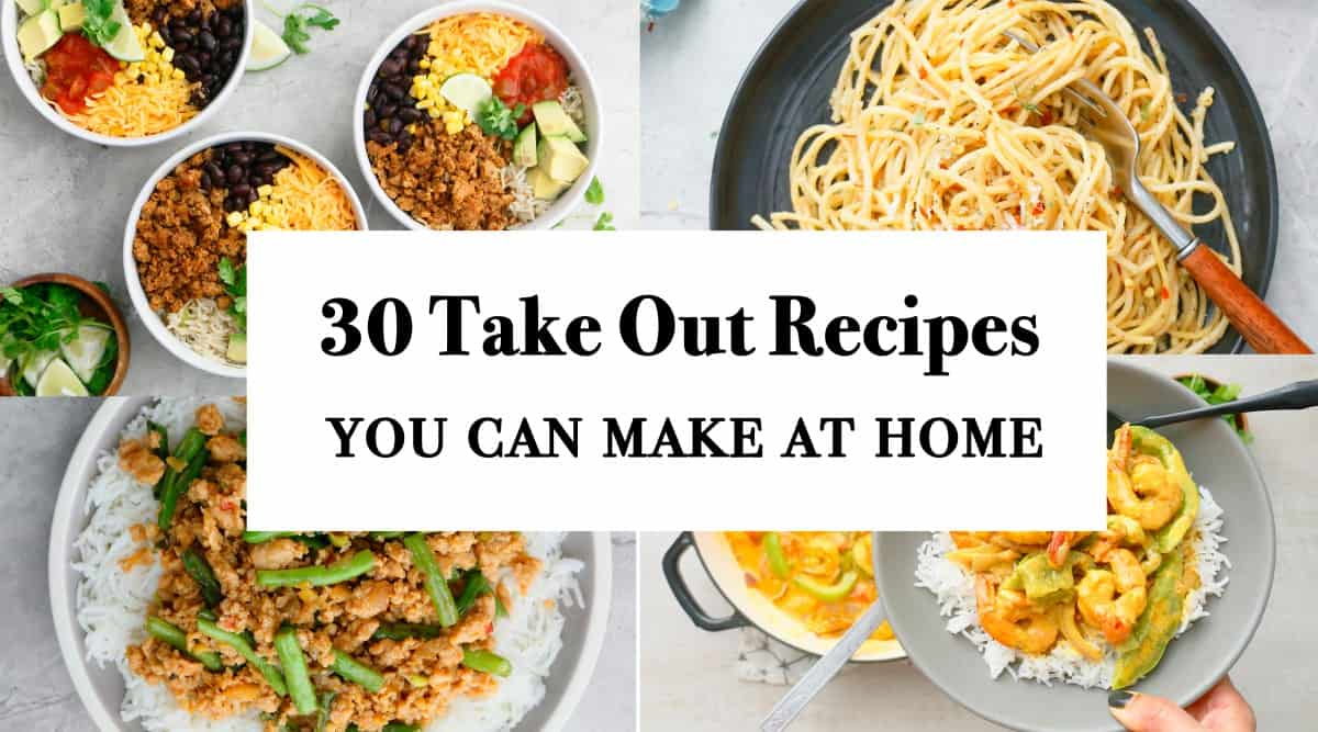 homemade take out recipes