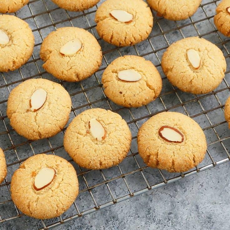 Almond flour shortbreads