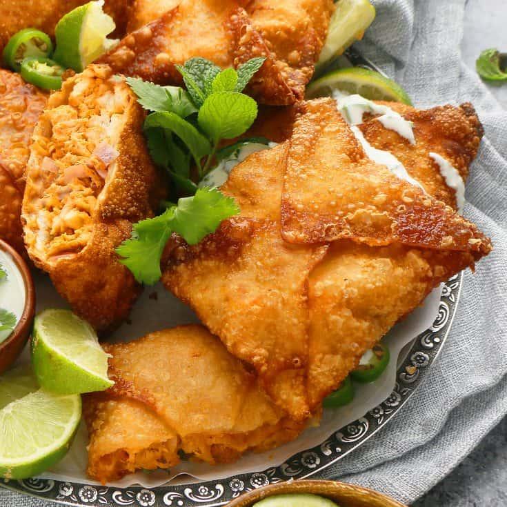 Tandoori Chicken Pockets