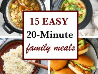 20 MINUTE FAMILY MEALS