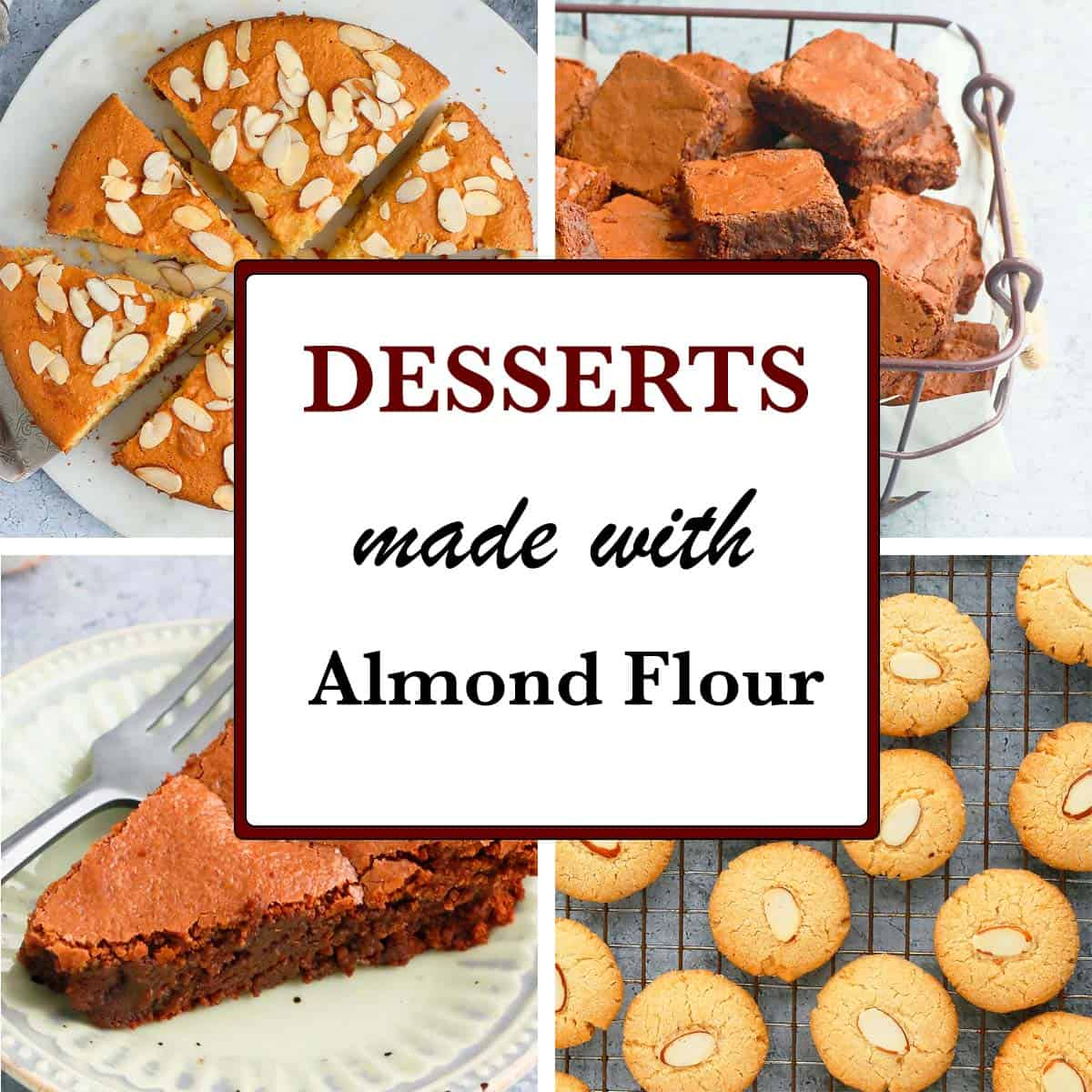 easy desserts with almond flour