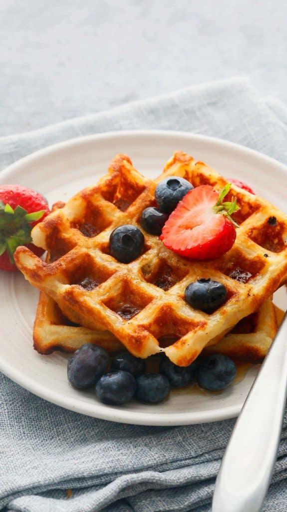 no egg waffles served