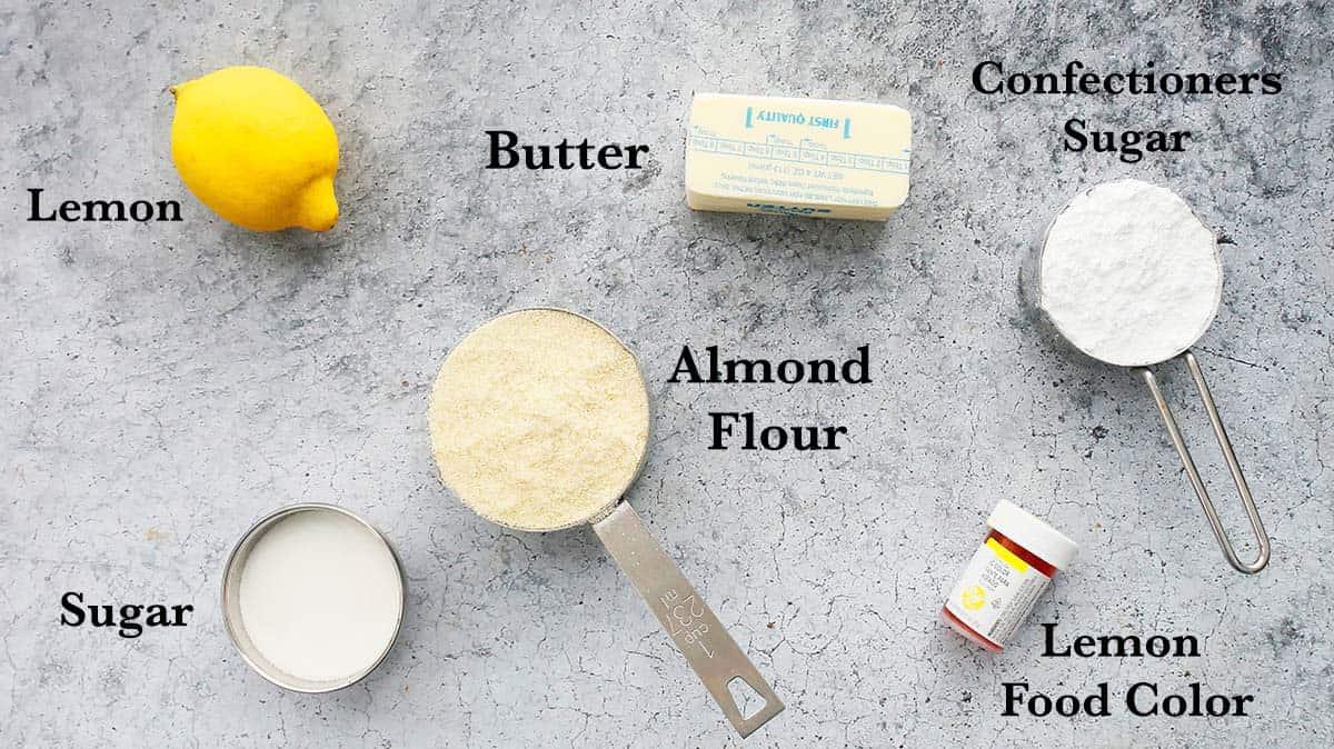ingredients needed to make cookies