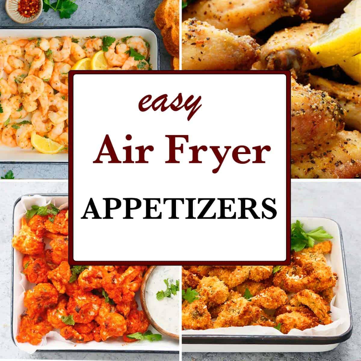 easy air fryer appetizer ideas
