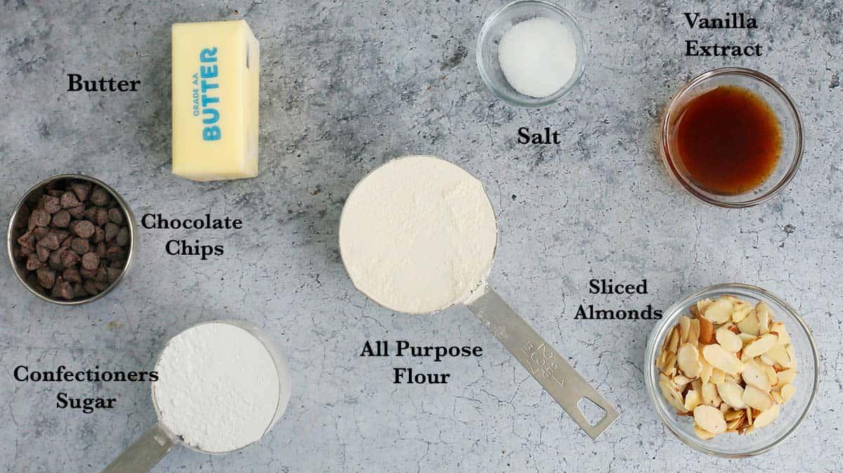 ingredients needed to make halloween cookies